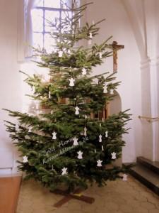 Juletræet i Glostrup Gamle Kirke