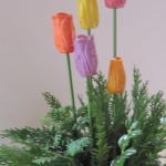 Tulipaner i juledres